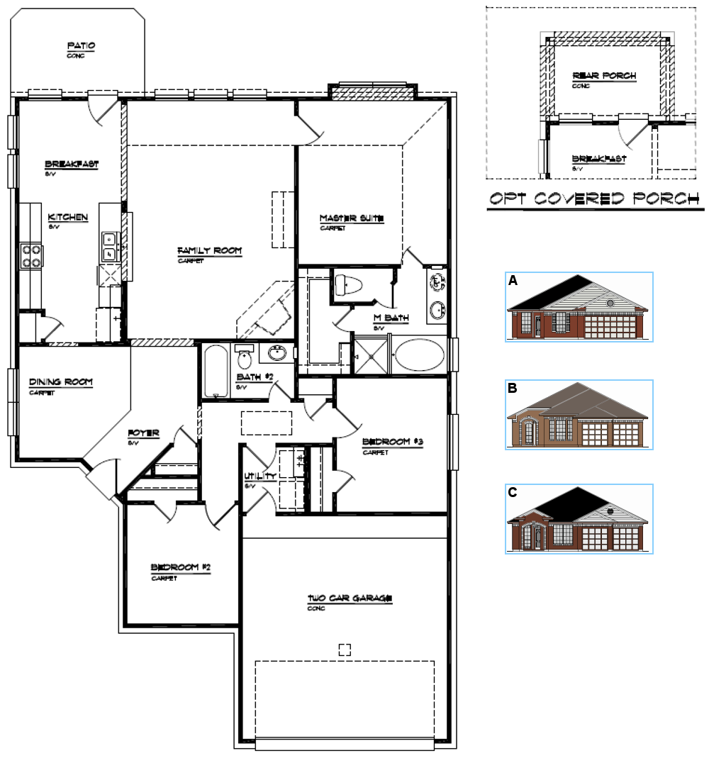 House Plans Mason Vincent Homes